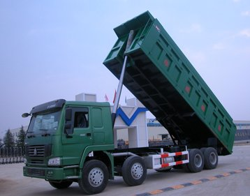 Sinotruk HOWO 8x4 371hp Front  Tipping Mining Tipper Truck