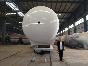China Facory 80 Cbm Ammonia Storage Tank for Nigeria And Namibia