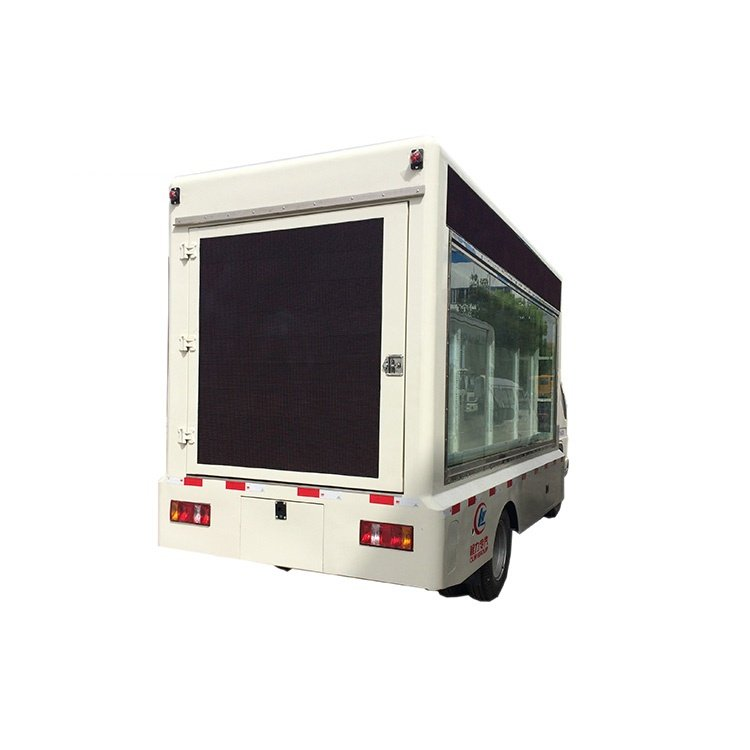 DONGFENG 4x2 P6 Mobile LED Advertising Billboard Truck