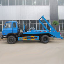 CLW Brand DONGFENG Chassis 4X2 10CBM 8 Tons Skid Loader Garbage Truck for Sale