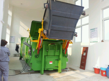 Waste Collection Truck Trash Container Bin Lifter Garbage Truck Trash Compactor Box