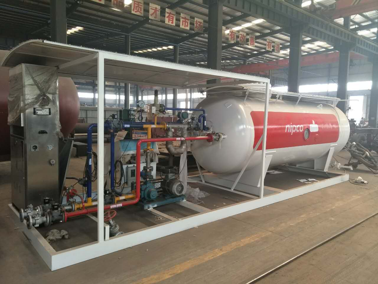 20m3 LPG Cylinder Filling Gas Plant Unit for Sale