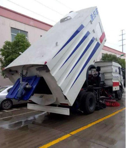 Dongfeng 16cbm Street Vacuum Cleaning Washer Truck