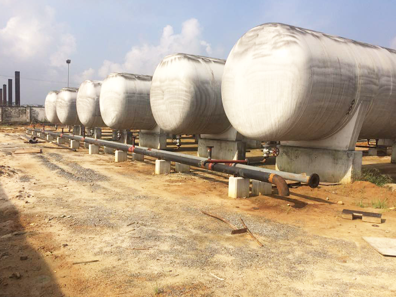 10 units 200 m3 ASME LPG storage tank for Africa