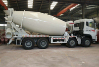 Sinotruk Howo 12 14 CBM Heavy Duty 336 HP 8X4 Concrete Mixer Cement Mix Truck