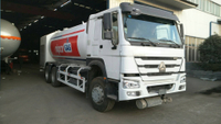 Sinotruk Howo 6X4 20Cubic Meters 10T 10MT LPG Dispenser Truck with Mass Flow Meter