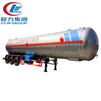 3 Axles 59600Liters LPG Tank Trailer