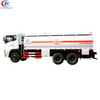 Howo 21.5cbm fuel tank truck 6*4 RHD with fueling system