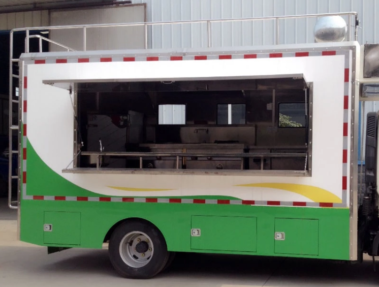 Hot Sale Mobile Food Truck Export To Nigeria